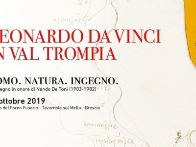 Invito Evento Leonardo Da Vinci in Val Trompia